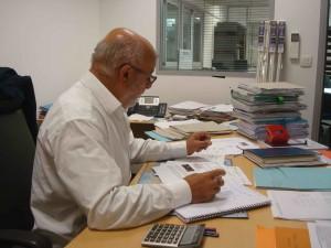 Florent Cecchini, chef d'entreprise, veut sauver ses emplois