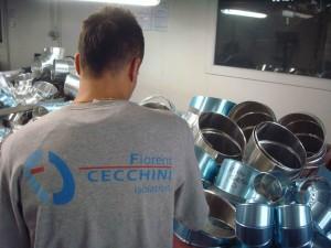 Kévin, employé chez Cecchini