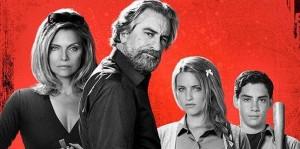 Les quatre protagonistes principaux de Malavita de Luc Besson 2013