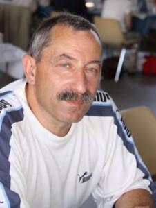 """L'auteur de  """"la France polissonne"""",  Patrick Caujolle, au salon du livre et de la BD de Monclar de Quercy (82)"""