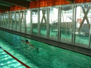Le bassin actuel de la piscine municipale de Bègles Photo: Valérie Doulevant